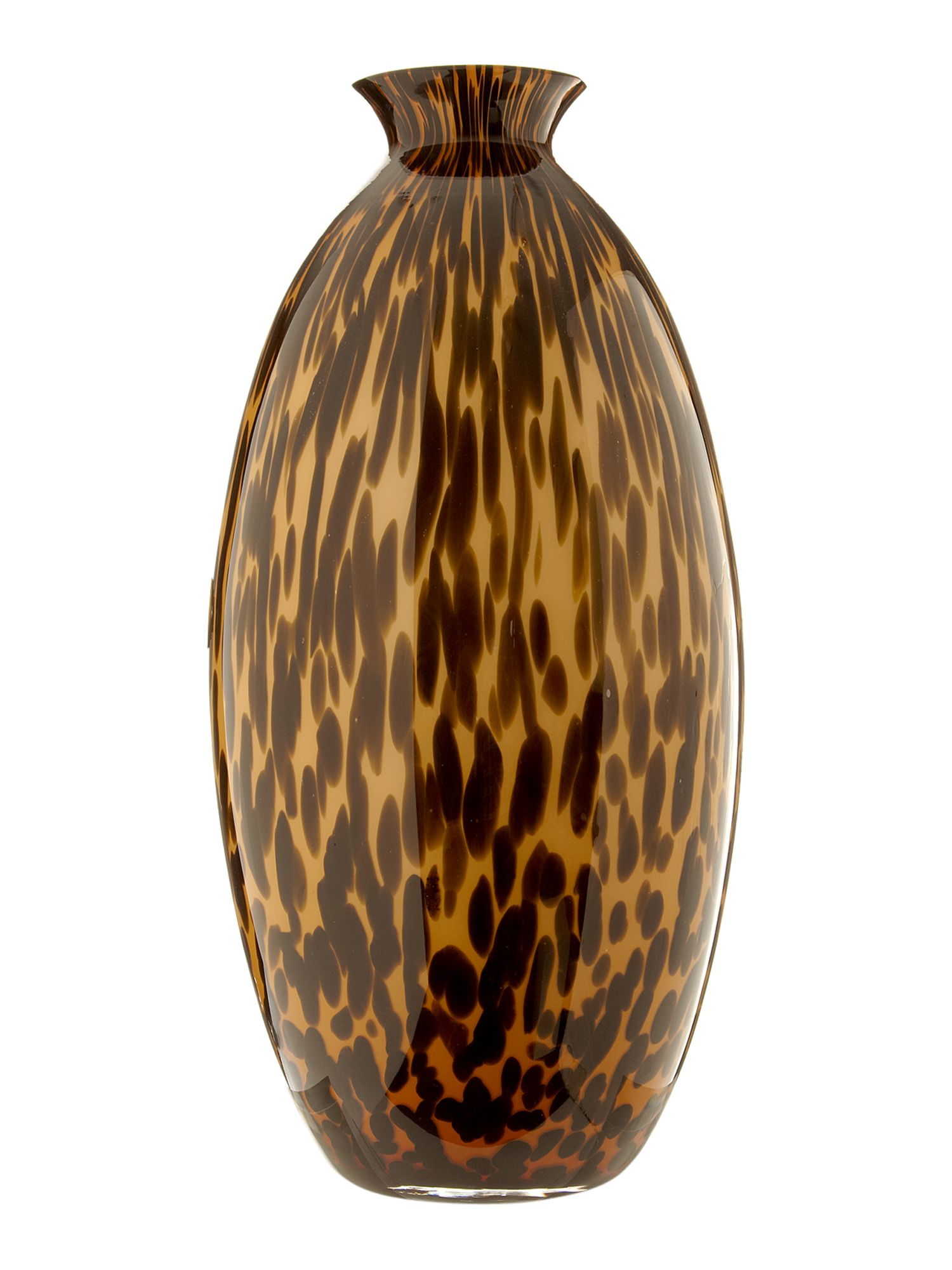 Kenneth Cole Queens Animal Print Vase