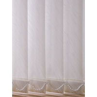 Stretton Vertical Blinds, Cream