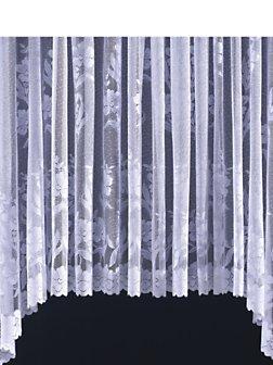 Carla Jardiniere Net Curtain White