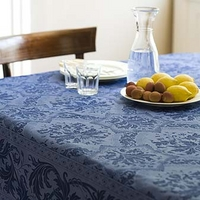 Topkapi L Tablecloth chocl.