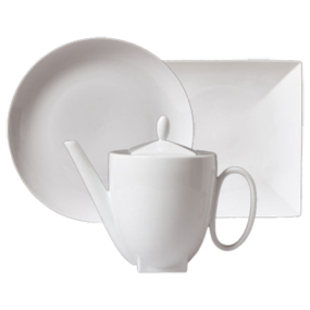 Diagono Bianco Tableware Tea and Coffee Essentials Milk Jug 300 cc