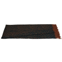Sonia Rykiel Maison - Luxe Leopard Throw - Brown and Black
