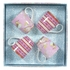 Pip Studio - Set of 4 Mugs in gift box - Pink