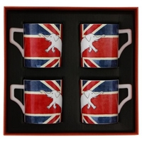 Andrew Martin - Union Jack Jumbo Mugs - Set of 4