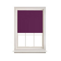 Plain Readymade Aubergine Blackout Roller Blind Range