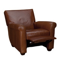 Orloff Leather Recliner Armchair