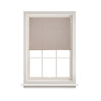 Linen Natural Readymade Blackout Roller Blind Range
