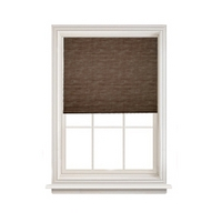 Raffia Readymade Earth Blackout Roller Blind