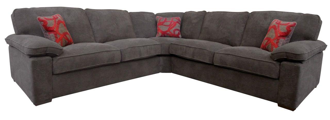 linea roma extra large corner sofa mink. Black Bedroom Furniture Sets. Home Design Ideas