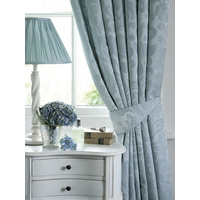 Christy Marianne curtains 90x90 in teal